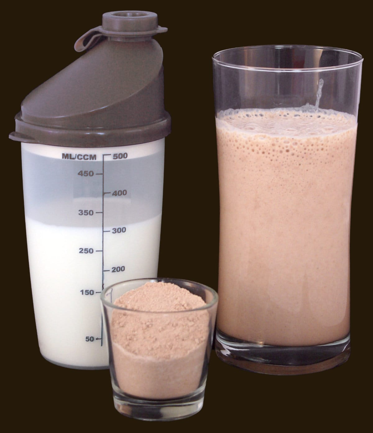 Shake poudre hyperprotéinée